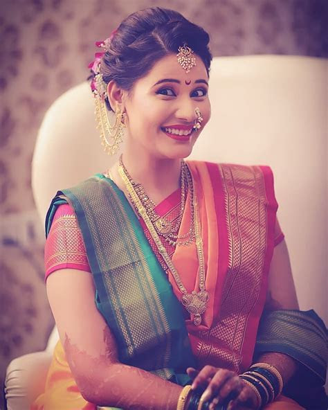 #Spotted 25   trending marathi brides who took for hearts!!