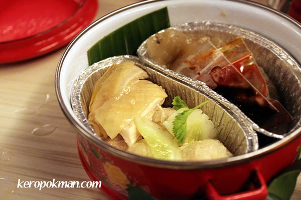 Tingkat 2 - Chicken Rice Balls, Soon Kueh