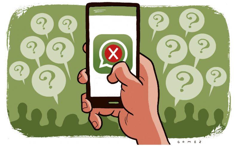Whatsapp está fora do ar em várias partes do mundo desde o início da noite desta quarta-feira - Foto: Caio Gomez/D.A/D.B/PRESS