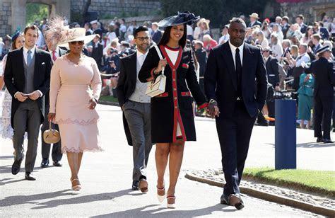 Oprah and Idris Elba attend the Royal Wedding