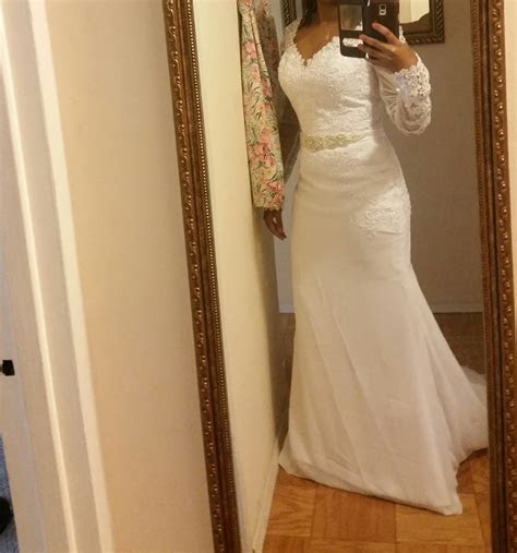 received  ebay wedding dress opinions