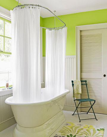 Green Room traditional bathroom