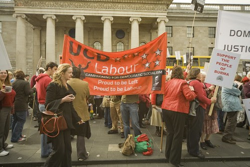 PROTEST IN O'CONNELL STREET by infomatique