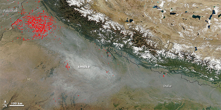 Seasons of Indian Air Quality