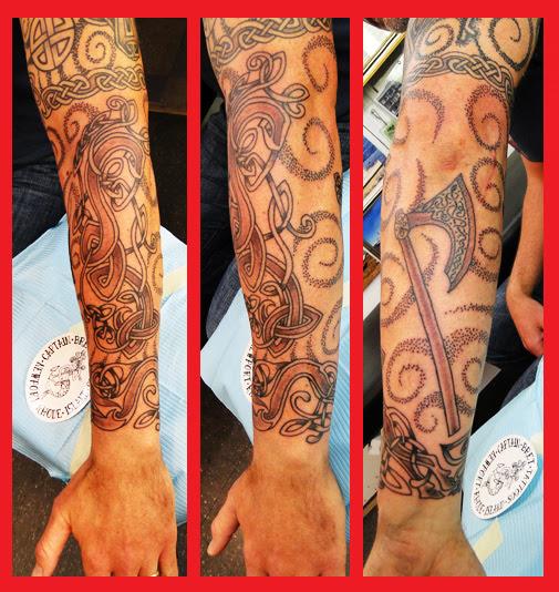 Celtic Viking Tattoos Portfolio By Captain Bret Newport Ri
