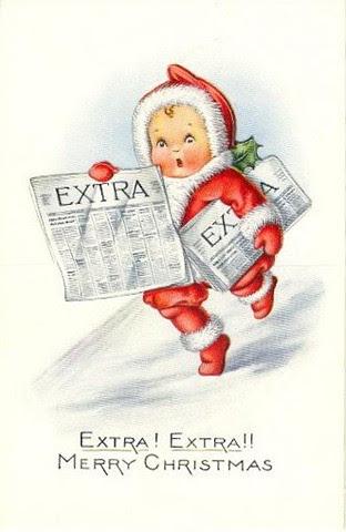 vintage christmas cupie