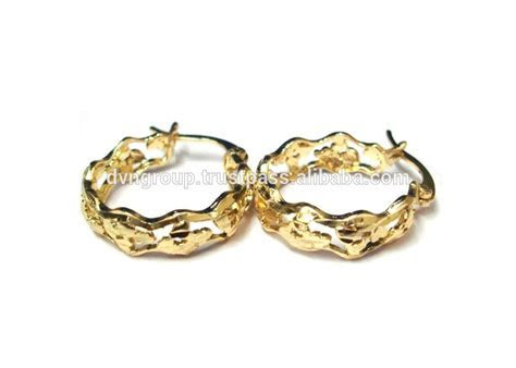 Low Cost Gold Plated Hoop Earrings, View fashion gold