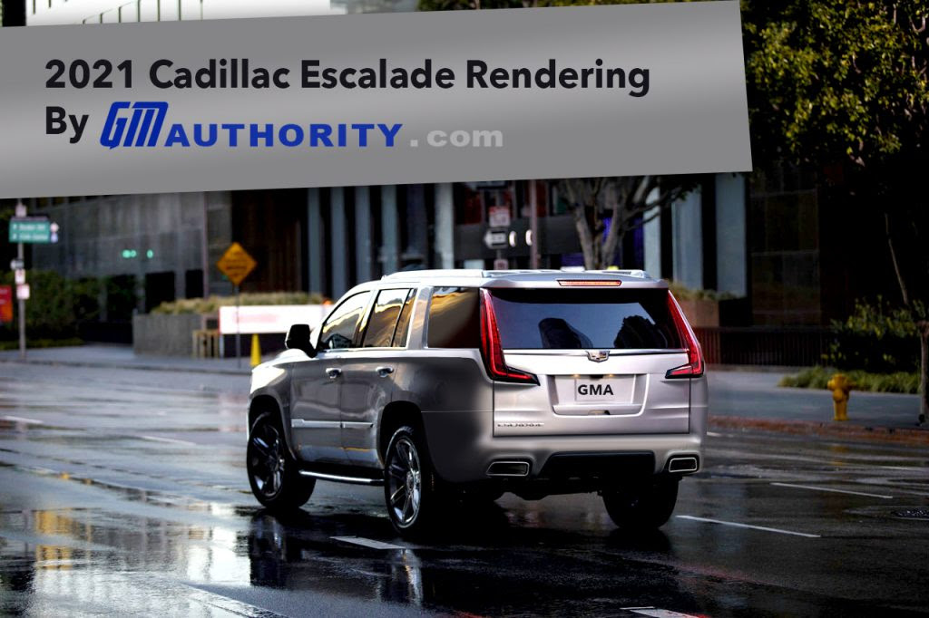 2021 cadillac escalade envisioned in new rendering  gm