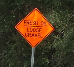 Fresh Oil - Loose Gravel