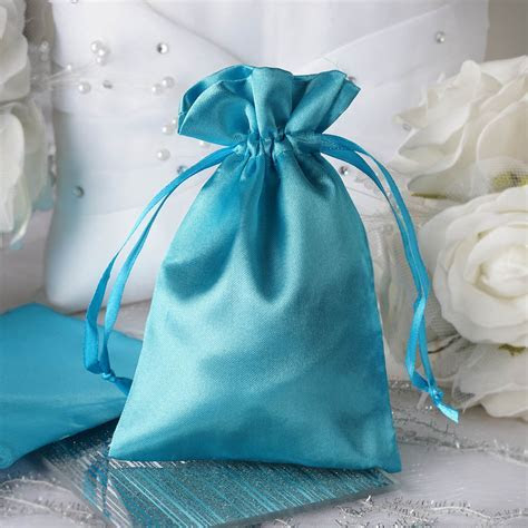 "120 pcs 4x5"" SATIN FAVOR BAGS Wedding Party Reception Gift"