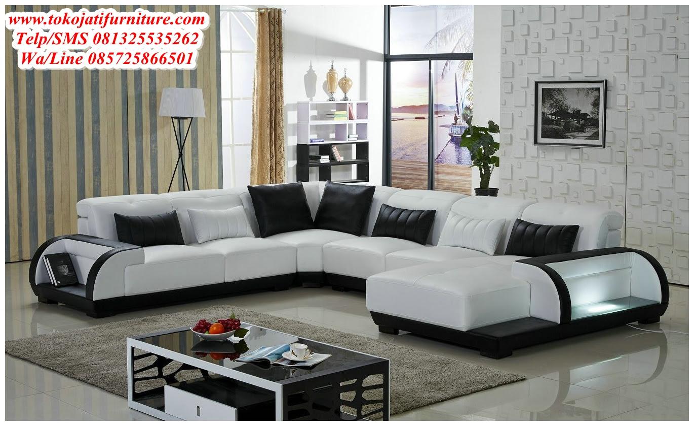Sofa Tamu Sudut Modern Wwwtokojatifurniturecom Best Store Online