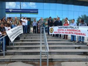 Greve dos Auditores da Receita Federal (Foto: Divulgação)