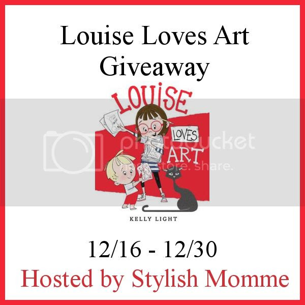 Enter the Louise Loves Art Giveaway. Ends 12/30.