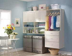 Organize Your Laundry Room! - Techline Furniture, Cabinetry ...