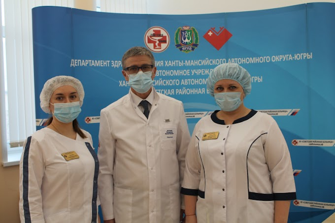 В Советскую районную больницу поступила первая партия вакцины от СOVID-19