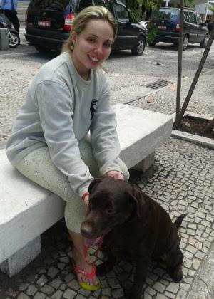 Ainda que não seja católica, a carioca Maria Fernanda Pellon de Castro, 26, disse ter ficado toda arrepiada quando viu o papa Francisco