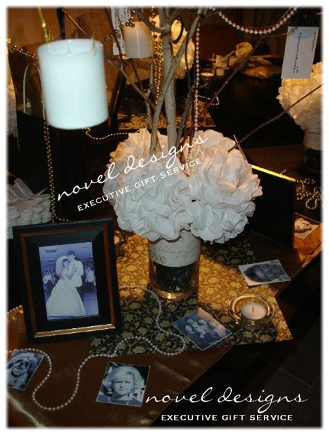 #50th #Wedding #Anniversary Memory Tree Centerpiece w