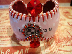 Custom Baseball Cuff for Mae!