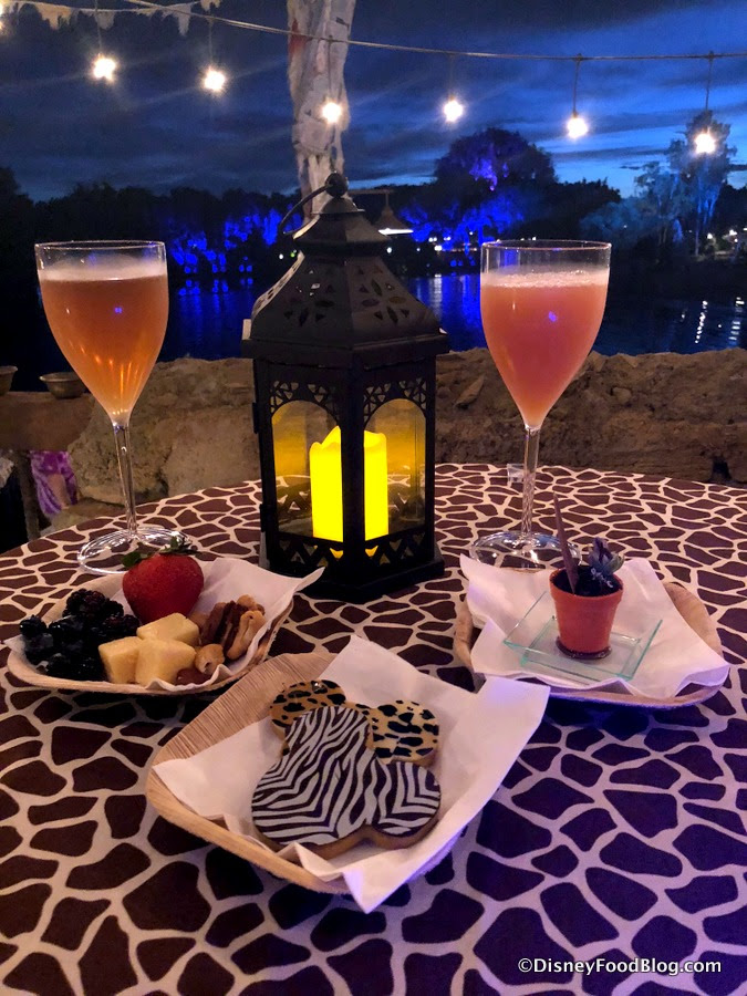 Review! NEW Rivers of Light Dessert Party in Disney World ...