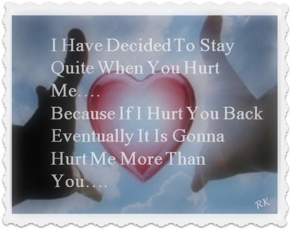 Hurt Me More Than You