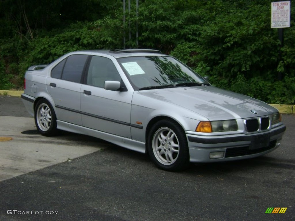 1997 Arctic Silver Metallic BMW 3 Series 328i Sedan ...