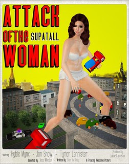 Attack of the SupaTall Woman