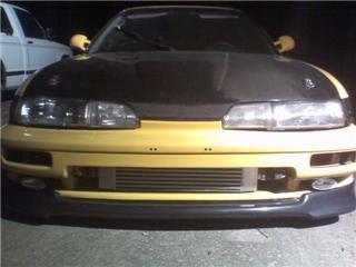 Speed 1990 1993 Acura Integra Front Bumper Legend:Acura Car