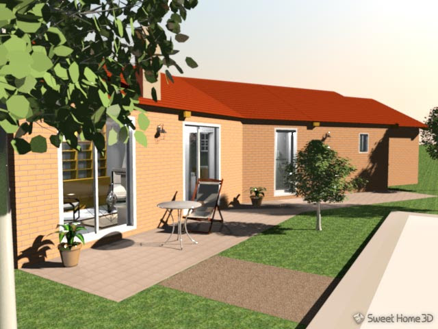 Software per costruire casa in 3d con sweet home 3d gratis for Programma per costruire case in 3d gratis