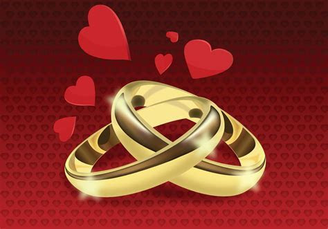 Wedding Rings Free Vector Art   (3861 Free Downloads)