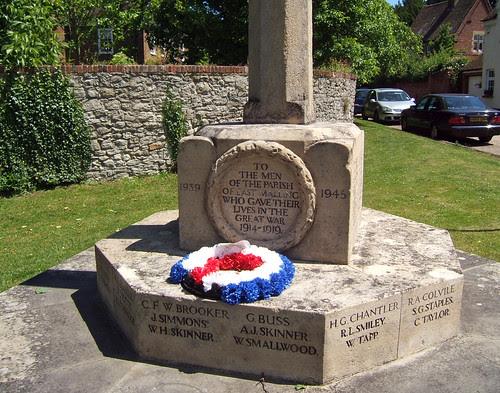 Memorial, East Malling
