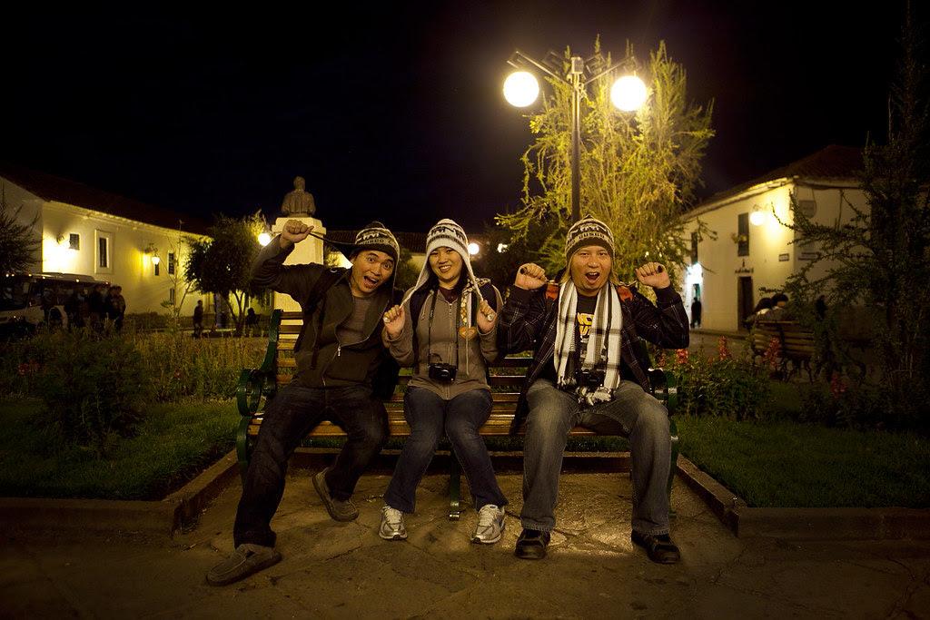 bench trio