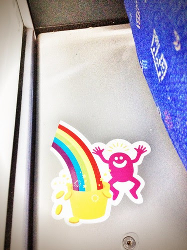 commuter train stickers