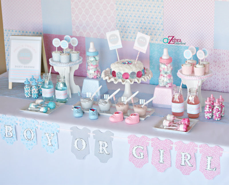 Baby Gender Reveal Party Baby Shower Ideas Themes Games