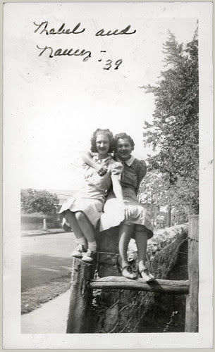 Mabel and Nancy '39