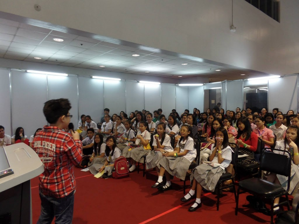 Patrick Gabriel Gonzales Speaking about Generation Z at Smart Kids Asia