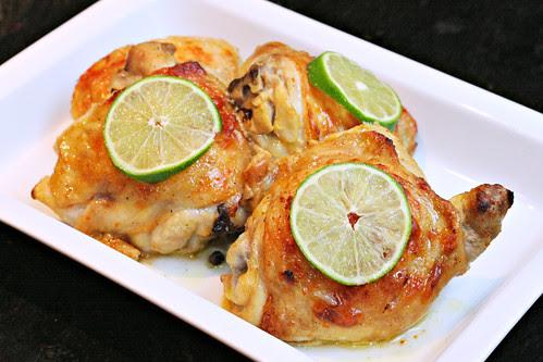 Citrus Garlic Roasted Chicken