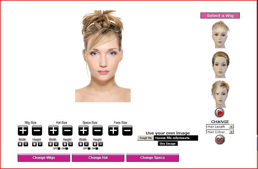 siti per provare tagli di capelli - La tua acconciatura perfetta Provare un Nuovo Look in Pochi