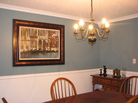 Simple Dining Room Color Ideas: Dining Rooms With Chair Rail Paint Ideas