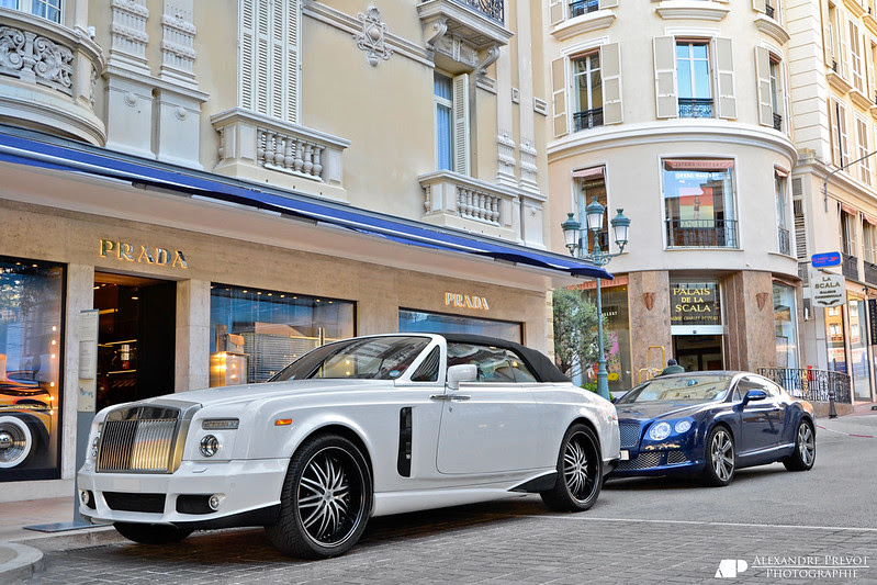 Rolls Royce Phantom Drophead Coupe Mansory Bel air