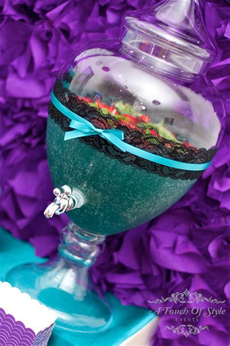 Purple and Teal 30th Birthday Party   Little Dance   All