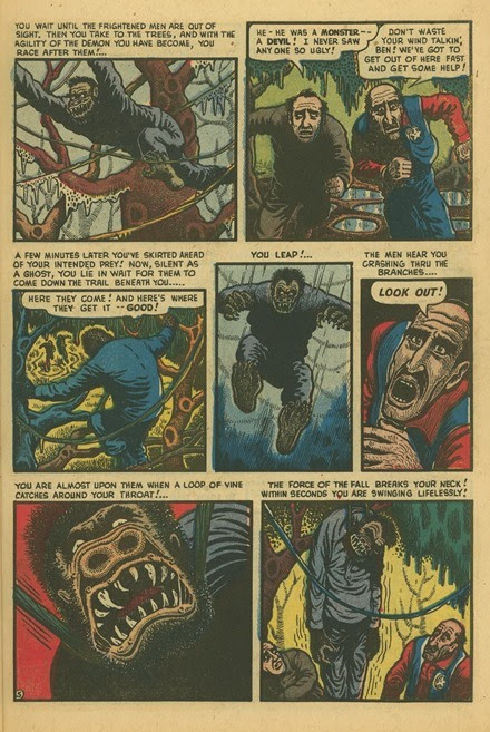 Basil Wolverton Swamp Monster Weird Mysteries 5 05
