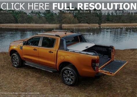 2020 Ford Ranger Blue Review