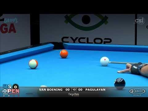 8-Ball: Van Boening vs Pagulayan - 2017 US Open