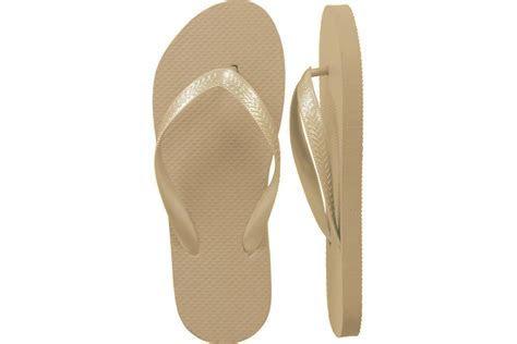 Womens Wholesale Bulk Wedding Guest Flip Flops, Gold, 24