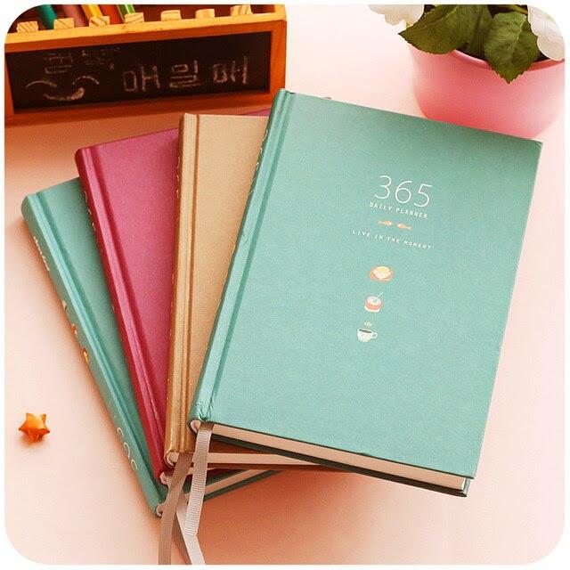 Aliexpress.com : Buy Creative Cute Schedule Notebook 365 Day ...
