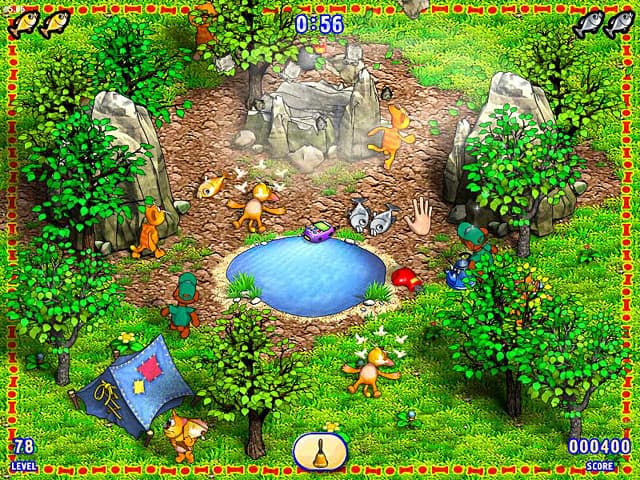 Milky Bear: Fish Patrol Free PC Game Screenshot