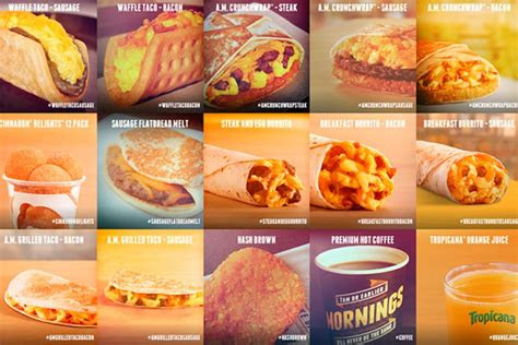 healthiest taco bell breakfast items ranked gq