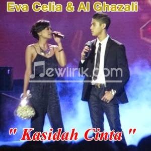 lirik Eva Celia & Al Ghazali - Kasidah Cinta