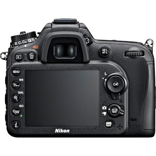 Nikon D7100 Rear View