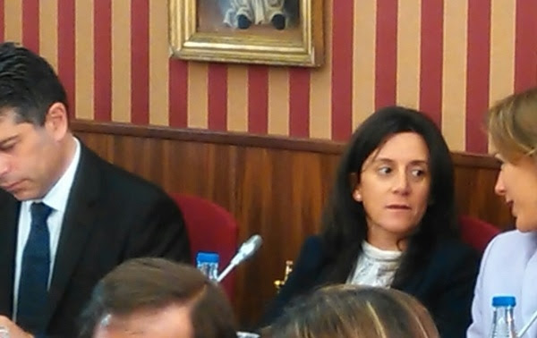 La concejal, Silvia Álvarez de Eulate.